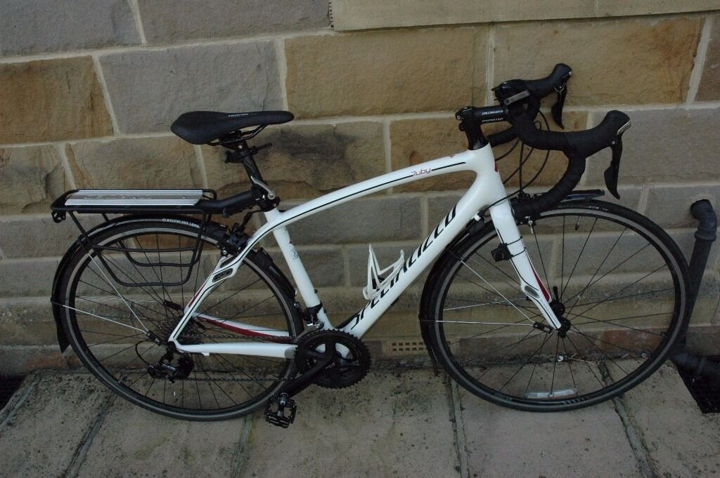 LADIES RUBY 2013 CARBON FIBRE ROAD BIKE TRIPLE 51
