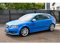2008 AUDI S3 QUATTRO TFSI SPRINT BLUE FASH LOW RATE FINANCE AVAILABLE NOT M3 R32 GOLF GTI CUPRA LEON