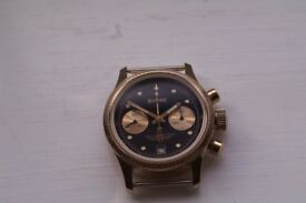 Poljot Buran model manual wind mechanical chronograph wristwatch - Russian - NOS - '90s Choice of 2
