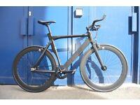 "Brand new NOLOGO ""X"" single speed fixed gear fixie bike/ road bike/ bicycles + 1year warranty SSE"