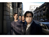 2x JIMMY EAT WORLD tickets unused