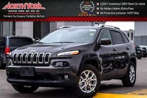 2017 Jeep Cherokee NEW Car North|4x4|Cold Wthr Pkg|RearCam|SatRa