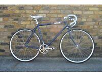 Brand new single speed fixed gear fixie bike/ road bike/ bicycles + 1year warranty & free service 7t