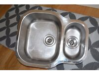 FRANKE UNDERMOUNT STAINLESS STEEL 1.5 BOWL SINK