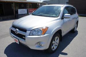 2011 Toyota RAV4 V6 | LIMITED |  LEATHER | SUNROOF | CLEAN CARPR