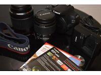 Canon 1200D + 2 Canon 18-55m & 55-200mm + Bag