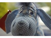 Eeyore Gingham RARE Disney Store Exclusive