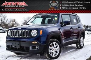 2016 Jeep Renegade North New 4x4 MySky Open Roof Nav Bluetooth S