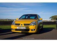 Renault Clio Sport 182 Both Cup Packs Full Fat Liquid Yellow 2.0 16V RARE 2005 Amazing Condition