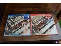 Rare THE BEATLES 1962-1966 on red vinyl and THE BEATLES 1967-1970 on blue vinyl, Thatcham, Berkshire