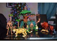 Very Rare Tarzan Tree House + Extras