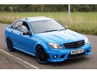 Mercedes c63 amg 6.2 v8 7G-tronic blue 2010 bargain