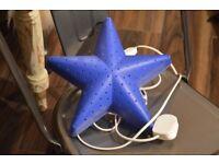 IKEA KIDS LAMP Wall lamp SMILA BLUE STAR