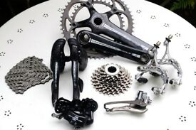 Campagnolo Chorus Carbon 11speed Road Racing Bike Groupset RRP £1099.99 Fully Working V.G.C. record