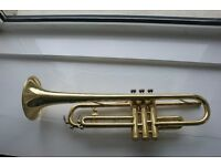 King 600 Trumpet in Brass Lacquer