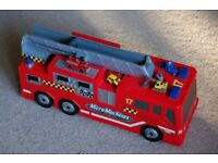 Micro Machines Fire Truck City with Cars.