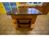 Used real wood kitchen with granite worktops and appliances!