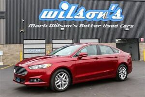 2013 Ford Fusion SE LEATHER! HEATED SEATS! MEMORY SEAT! REAR CAM