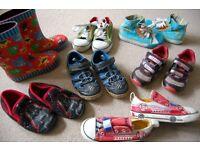 Bundle of boys shoes size 10.