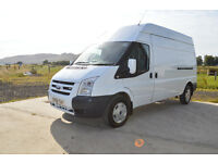 **Ford Transit LWB High Roof - Previously Council Owned Low Miles Excellent Van**