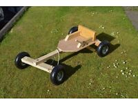 Wooden Carts / Karts Push / Gravity carts good old fashioned fun
