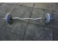 Dumbbells Orbatron DP 14.3 lbs Pound 6. Kilos Dumbell Weight Set Silver Weights