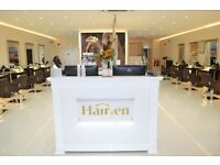 Salon Front of House Receptionist required for Multi Award Winning Salon Beeston & Gedling