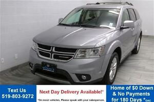 2016 Dodge Journey SXT 7-PASSENGER w/ REAR A/C! ALLOYS! POWER PA