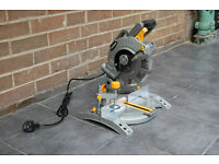 Titan 1400w 210mm Mitre Saw (240v) - Like new, warranty until May 2019
