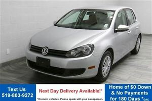 2013 Volkswagen Golf 2.5L TRENDLINE w/ HEATED SEATS! POWER PACKA