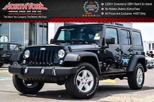 2016 Jeep WRANGLER UNLIMITED NEW Car Sport 4x4|Power Convenience