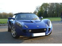 Lotus Elise S series 2 (2007), 1.8L Toyota engine, air conditioning