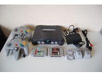 Nintendo 64 Console Bundle - N64