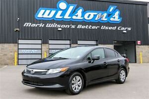 2012 Honda Civic LX BLUETOOTH! CRUISE! NEW TIRES! REAR SPOILER!
