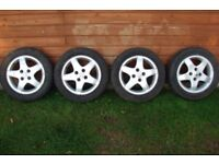 Peugeot 107 Alloy/Mag wheels and tyres