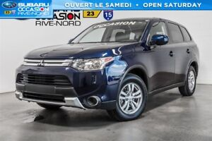 2015 Mitsubishi Outlander ES AWD MAGS+SIEGES.CHAUFFANTS