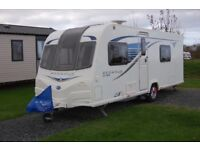 2013 Bailey Pegasus GT65 Verona - 4 berth, fixed double bed, end washroom, immaculate condition