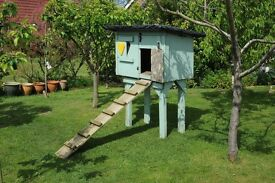 Chicken huts / sheds. Handmade, very strong. Both need a bit of tlc but still very serviceable.