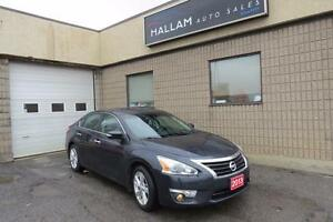 2013 Nissan Altima 2.5 SL Blk Leather Int, Sunroof, Back-up C...