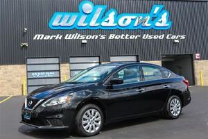 2016 Nissan Sentra S BLUETOOTH! CRUISE CONTROL! POWER PACKAGE! $