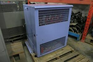 FEDERAL PIONEER Transformer, 75kVA, 600-208/120