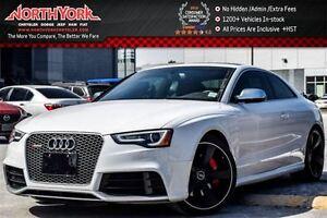 2015 Audi RS 5 Quattro|Tech,Red Brake, Pkgs|Sunroof|Nav|BlindSpo