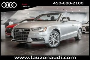 2015 Audi A3 2.0T CABRIOLET KOMFORT STYLING PACK.