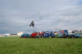 Event shows; Stunt shows, car stunts, motorcycle display team, fire stunts and much much more...