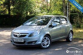 2010 Vauxhall Corsa 1.4 i 16v SXi 5dr £3650