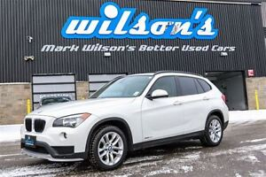 2015 BMW X1 xDRIVE28i AWD! PREMIUM PKG! PANO ROOF! LEATHER! HE