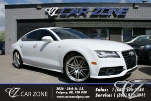 2012 Audi A7 Premium Plus Sline Heads Up Display