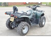 2016 500cc 4x4 JAGUAR ROAD LEGAL FARM QUAD BIKE 66 PLATE FULLY AUTOMATIC SHAFT DRIVE / REVERSE