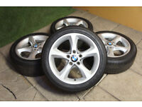 "Genuine BMW 1 Series 17"" Sport Alloy wheels 3 Series E81 E82 E88 E87 E46 E36 Alloys"