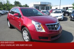 2012 Cadillac SRX AWD Luxury,TOIT OUVRANT ULTRAVIEW, BLUETOOTH